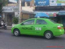 This Taxi Accepts Credit/Debit card payments