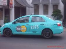 Yup! This Taxi Accepts Credit/Debit card payments