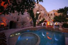 Turkey Gamirasu Cave Hotel.. The Turkish way to relax in a nice pool