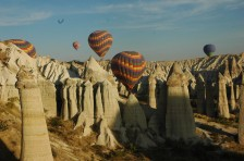 "One of Cappadocia Cave Suites best privileges ""The hot Air Balloon Flight!"""