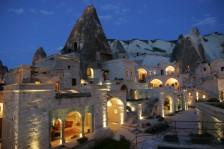 Cappadocia Cave Suites spectacular exterior view