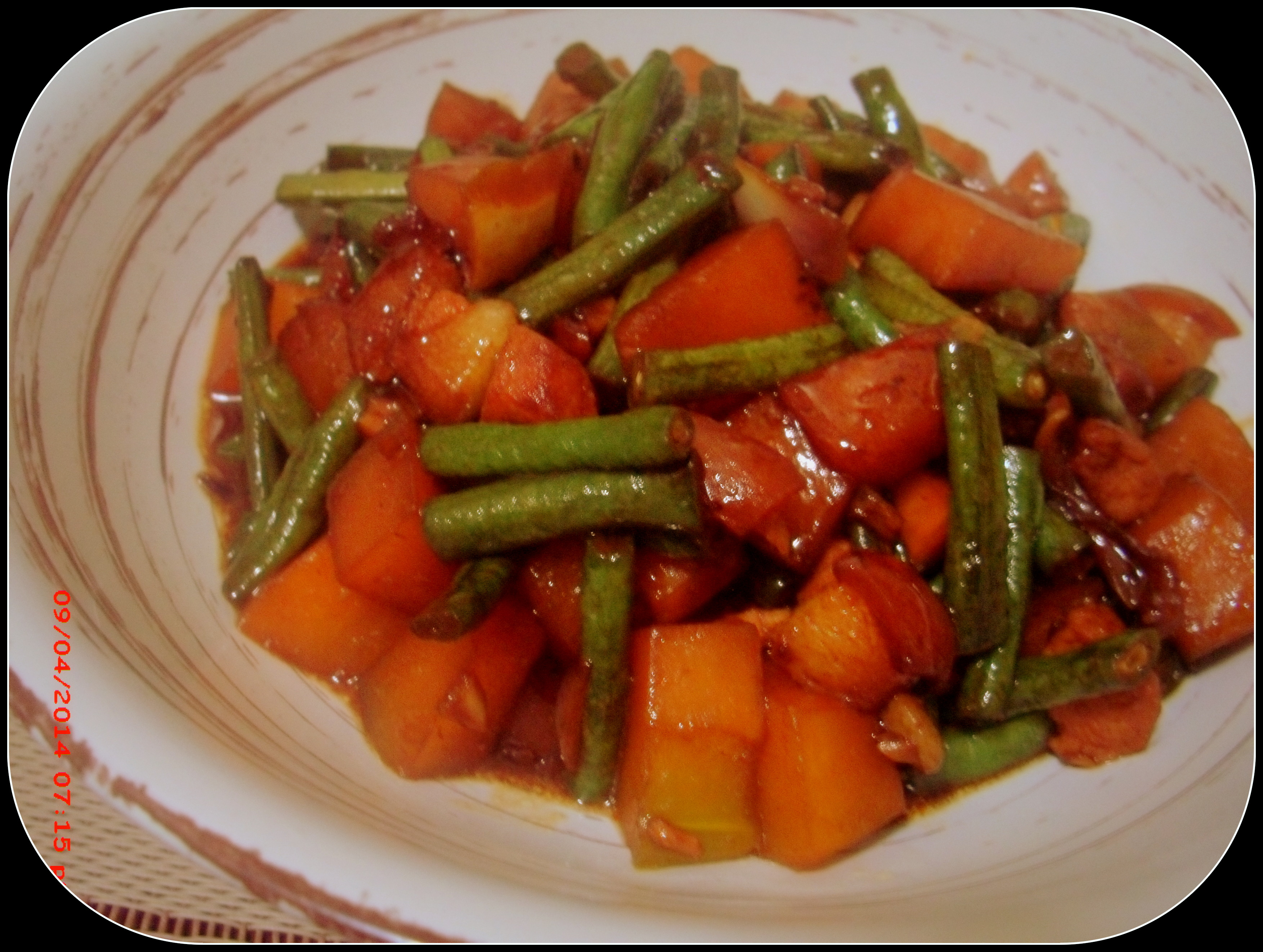 Frugal Living Another Boring Blog Post Of Cooking Spicy Pinakbet Travelingmind2anywhere