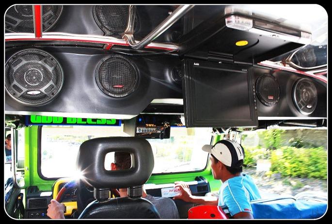 interior jeepney