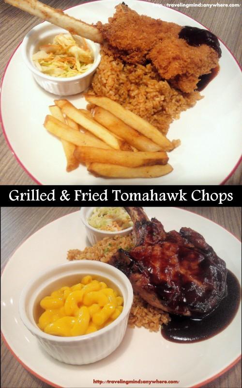 tomahawk chops