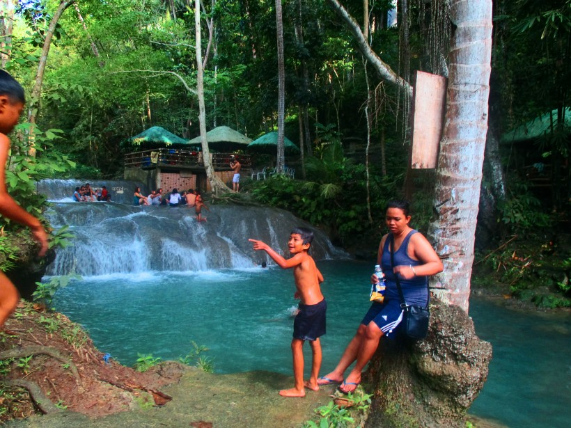 little hagimit water falls